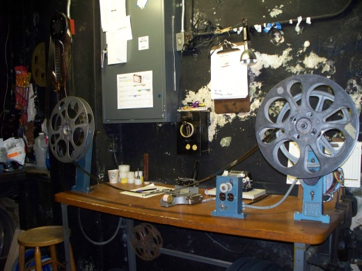 projection room tampa theatre